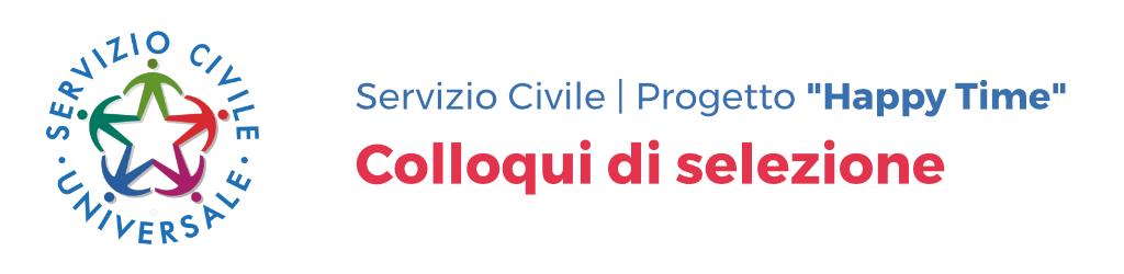 Colloqui di selezione servizio civile 2018 Anffas Onlus Patti Progetto Happy Time